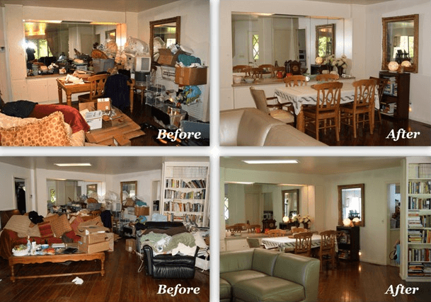 Before And After in Goleta, CA.