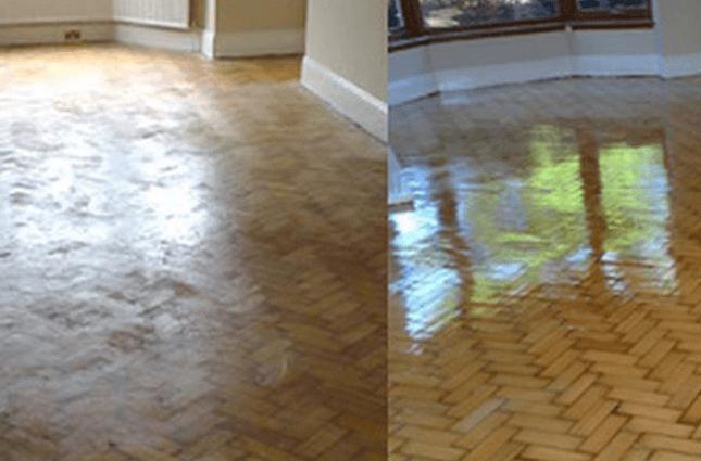 Floor Cleaned in goleta, CA.
