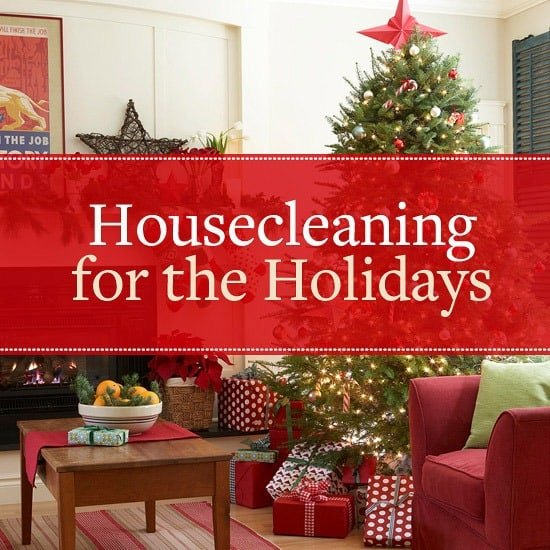 Clean House for the Holidays Tips