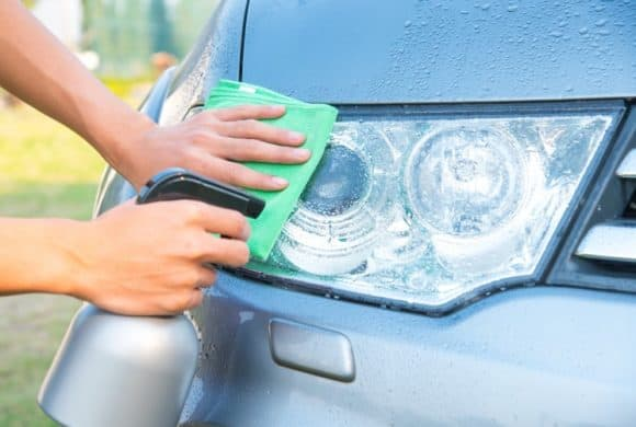 Car Headlight Cleaning Services