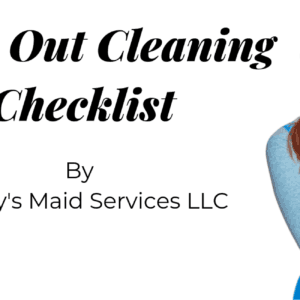 Move Out Cleaning Checklist For Tenant
