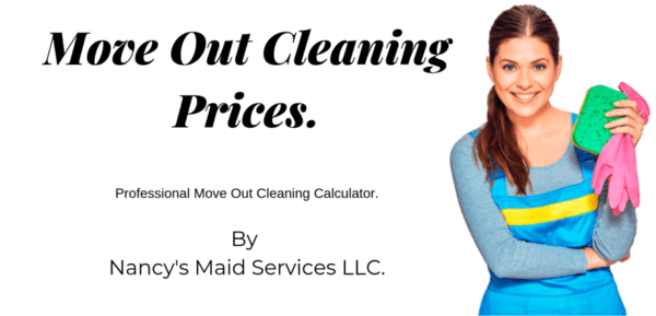 how much does a move out cleaning cost?