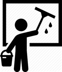 Outside Windows Cleaning Icon