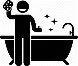 Bathroom Cleaning Icon