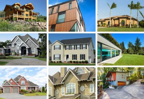 Differents types of homes