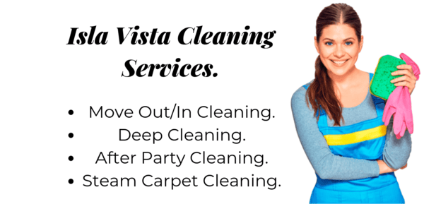 cleaning services isla vista