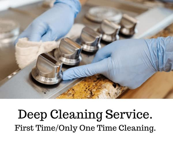 Deep Cleaning Service.