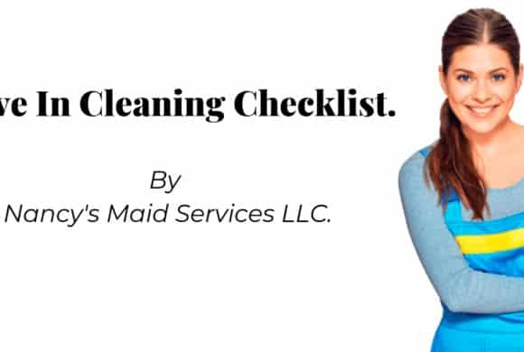 Move In Cleaning Checklist