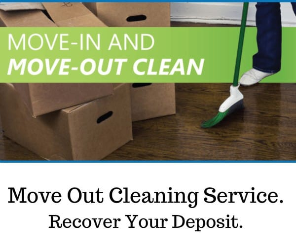 Move Out Cleaning Service.