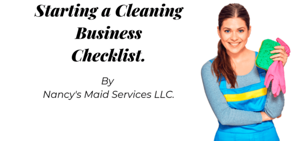 Checklist for Starting a Cleaning Business