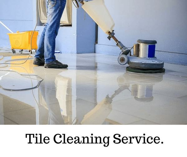 Tile Cleaning.