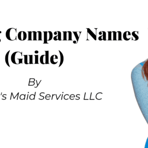 Cleaning Company Names