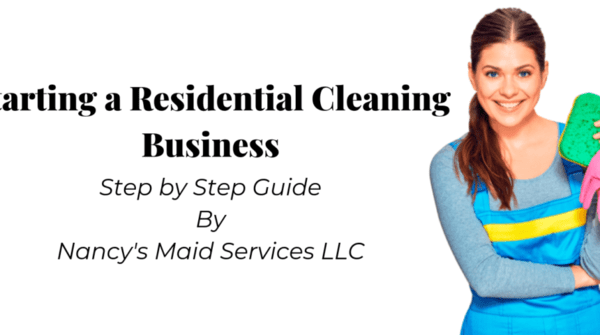 starting a residential cleaning business