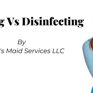 cleaning disinfecting